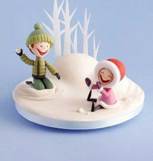 KIDS IN SNOW (φιγούρες)