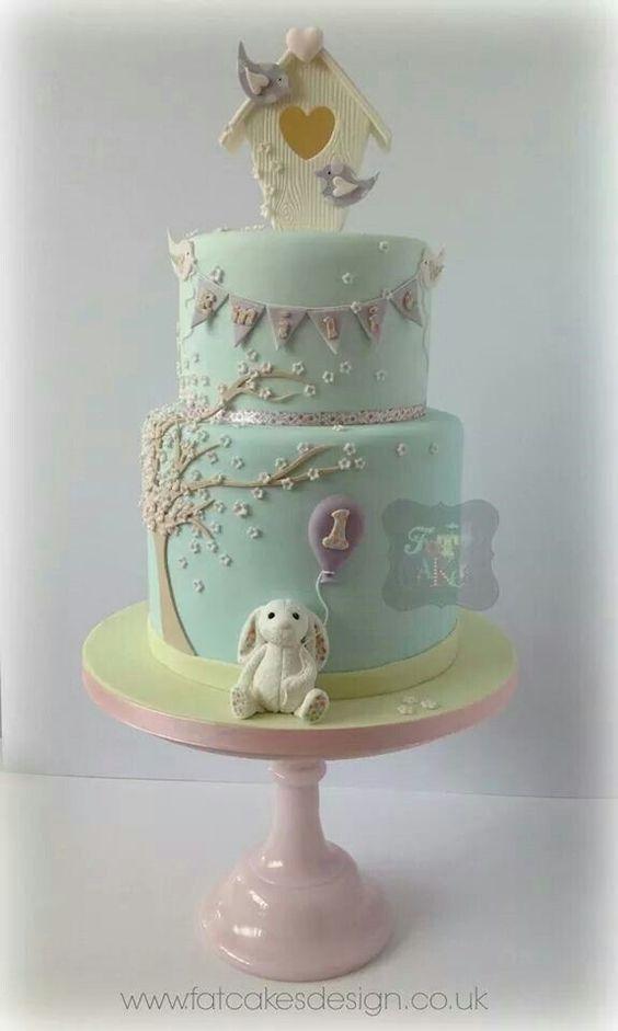Cake: LOVELY BUNNIE CAKE
