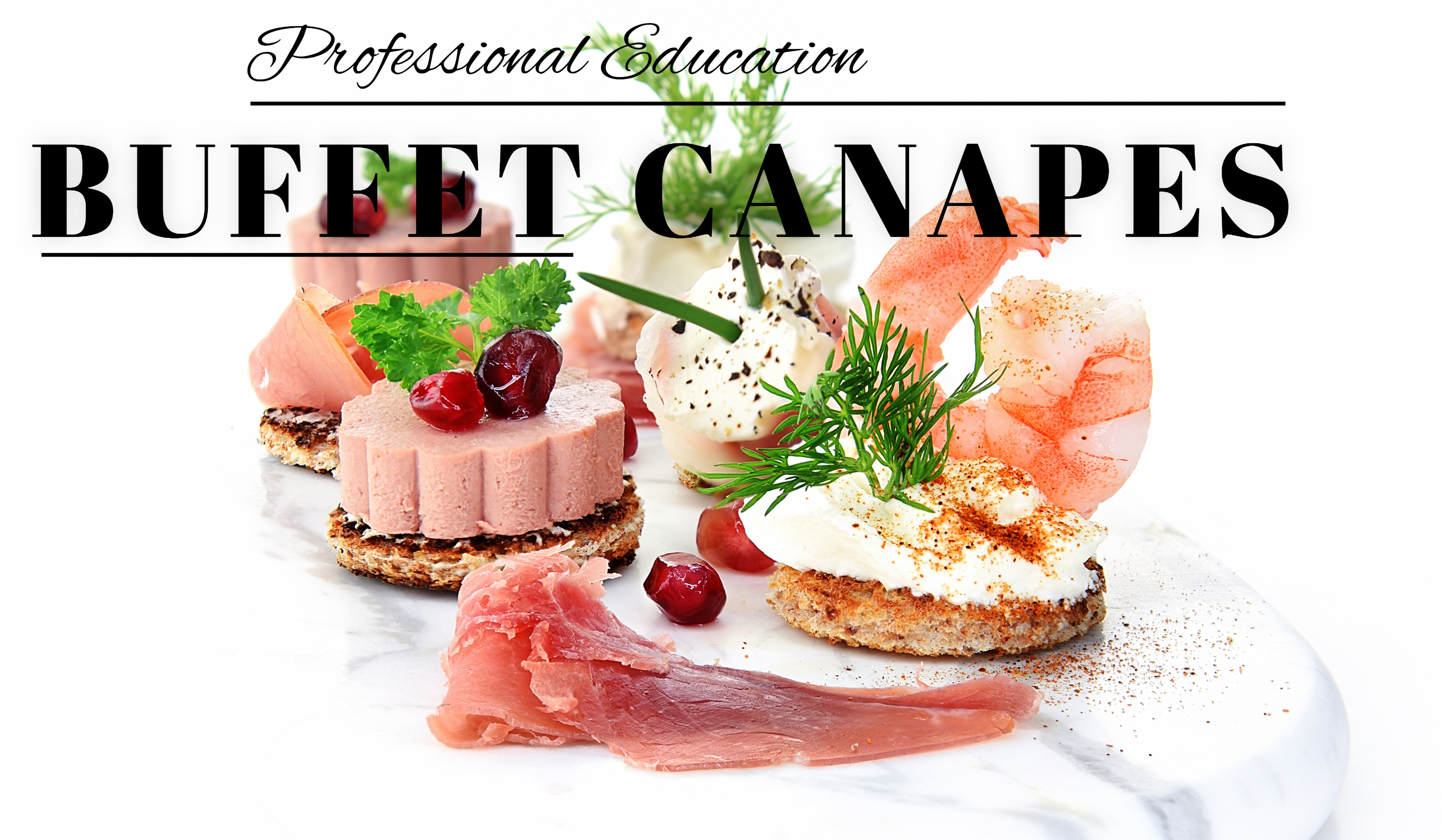 BUFFET CANAPE'S