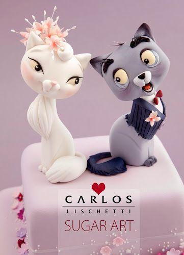 CATS IN LOVE by Carlos Lischetti (φιγούρα)
