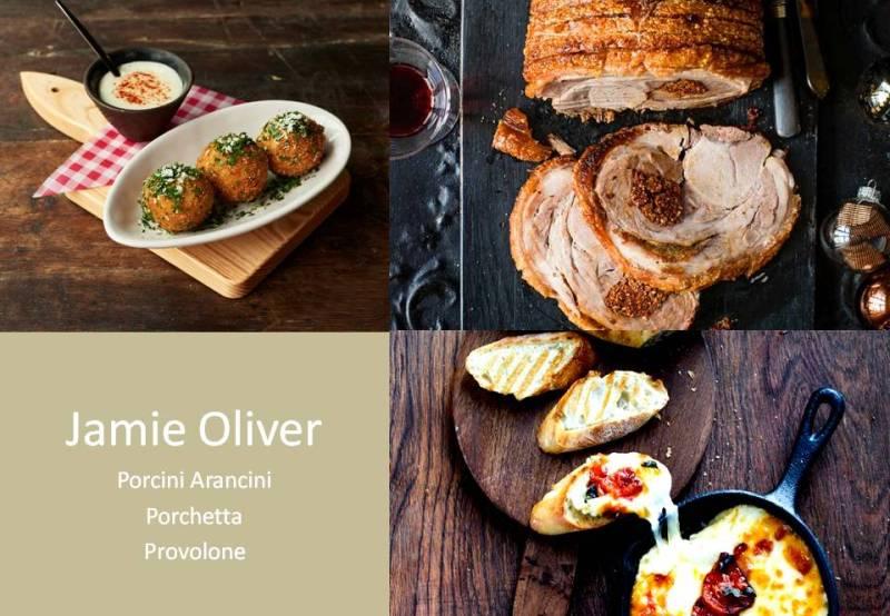 JAMIE OLIVER Feast Menu