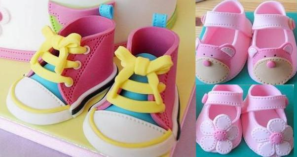 TOPPERS: BABY SHOES