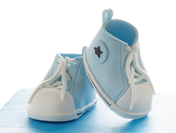 Figures Modeling: BABY SHOES