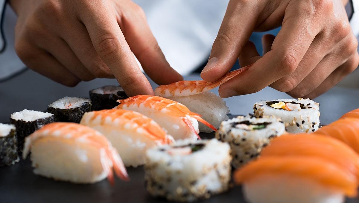 Ιαπωνική Κουζίνα   Sushi - Μαθήματα Μαγειρικής 5387e618857